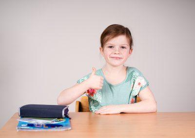Portrét děti škola